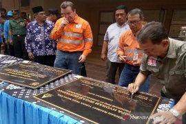 Tambang Emas Martabe serahterimakan pembangunan Kantor Camat Batang Toru