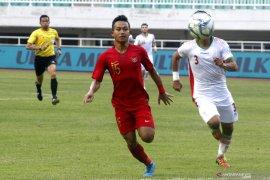Babak pertama Timnas U-22 Indonesia ungguli Vietnam 1-0