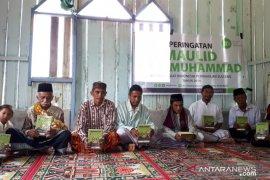 Warga pedalaman Sigi diajak meneladani kehidupan Nabi Muhammad SAW