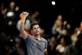 Thiem tantang Tsitsipas pada final ATP Finals