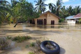 Banjir rendam 10 desa di Nagan Raya
