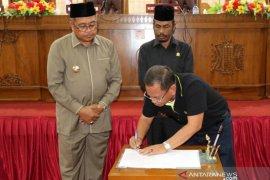 DPRK Aceh Barat sahkan APBK 2020 Rp1,4 Triliun