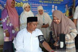 Bupati Aceh Barat luncurkan pengobatan gratis tiap pekan untuk warga
