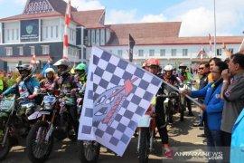 Ratusan rider trail semarakkan HUT ke-69 Tapanuli Selatan