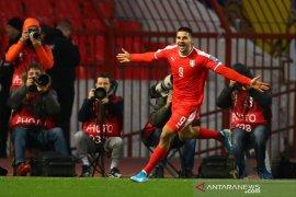 Kualifikasi Piala Eropa 2020: Diimbangi Ukraina, Serbia terpaksa playoff