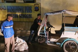 Polisi di Medan amankan pelaku pembuang bangkai babi