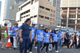 Wapres hadiri kegiatan jalan santai Interfaith Walk