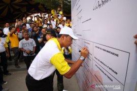 Kapolda Gorontalo turut ikut deklarasi penolakan narkoba