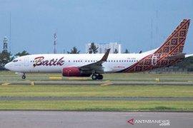 Batik Air melakukan penerbangan perdana Surabaya-Madinah