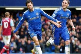Eden Hazard: Lampard punya kualitas untuk jadi salah satu pelatih terbaik