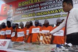 Sampai Kalimantan, polisi kejar pelaku penadah motor curian
