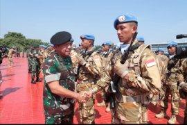 Panglima TNI: Kontingen Garuda dipercaya jadi duta bangsa di forum internasional