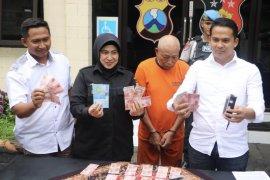 Edarkan uang palsu di Malang, pria asal Rembang ditangkap polisi