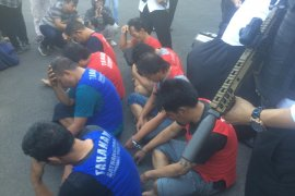 Polisi gagalkan peredaran sabu 1,3 kilogram, delapan orang pengedar diamankan
