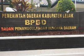 BPBD Lebak waspadai 42 titik potensi bencana alam