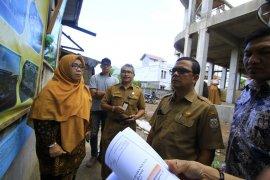 DPRK Banda Aceh sidak pembangunan puskesmas