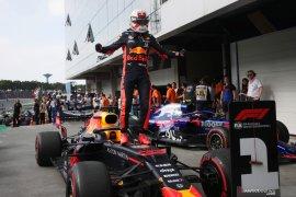 Pebalap Max Verstappen juarai GP Brazil