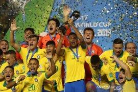 Brazil juara Piala Dunia U-17 setelah kalahkan Meksiko