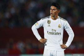Cedera ligamen, James Rodriguez absen hingga akhir tahun