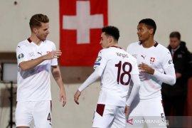 Kualifikasi Piala Eropa, lumat Gibraltar 6-1, Swiss melaju