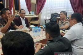 Bawaslu Riau koordinasikan pengawalan Pilkada 2020 ke Polda