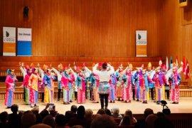 Paduan suara Indonesia berhasil raih juara kompetisi tingkat dunia di Warsawa