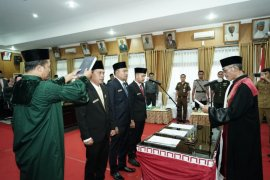 Pimpinan DPRD Tebing Tinggi dilantik