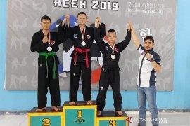 Atlet Aceh Tengah raih emas perak dan perunggu Kejuaraan Hapkido Aceh