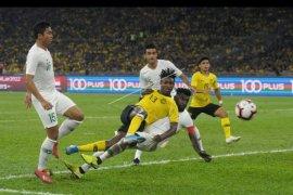 Timnas Indonesia kalah lawan Malaysia