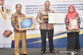 Tim koordinasi kerja sama Pemkab Bogor terbaik se-Jawa Barat