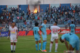 """Hasil Liga 1: Persela vs Perseru, Nil Maizar sebut pemainnya """"tegang"""" ingin menang"""