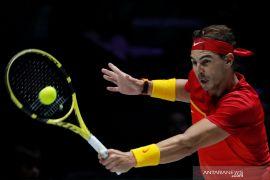 Rafael Nadal antar Spanyol ke final Piala Davis