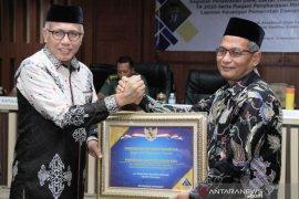 Sebelas kali raih WTP, Nagan Raya raih penghargaan dari pemerintah pusat