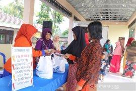 Masyarakat Kecamatan Kandangan berterima kasih adanya Bazar TTI
