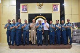 Atase Pertahanan Korsel kunjungi Markas Koarmada III TNI AL