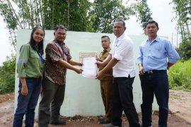 TPL bangun dam dan bak penampung atasi krisis air di Sihaporas Simalungun