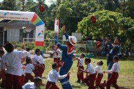 Siswa SD Negeri Kapar Hulu ikuti edukasi Pertamina