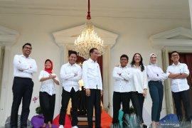 14 orang staf khusus Presiden Joko Widodo