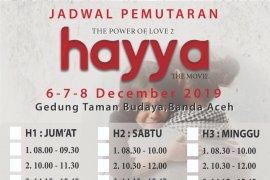 ACT Aceh sediakan voucher umroh bagi penonton Film Hayya