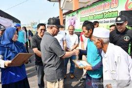 Bupati HSS serahkan bansos untuk wilayah Daha