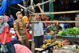 Penertiban PKL di Padangsidimpuan humanis