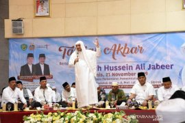 Pemkab Tapsel gelar Tabligh akbar bersama ustadz Syech Hussein Ali Jabeer