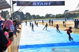 383 atlet Indonesia dan Malaysia berlaga di Kejuaraan Sepatu Roda Piala Bupati Siak