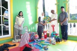 DKBP4 Langkat serahkan APE buat Masjid Ubudiyah Pangkalan Brandan