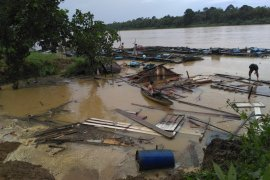 86 desa di Kabupaten Batanghari  rawan banjir
