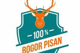 """Logo """"100% Bogor Pisan"""" untuk penguatan identitas lokal"""