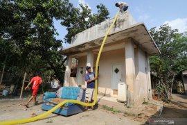 Bantuan air bersih di Kota Kediri