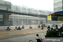 """Ada """"air terjun"""" di Kalimalang, ini penjelasan kontraktor Becakayu"""