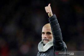 Liga inggris: Pep Guardiola sebut Rodgers ubah Leicester jadi calon juara