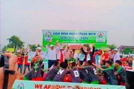 Sumsel tampil juara Liga Desa Nusantara